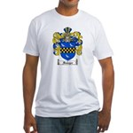 Sawyer Coat of Arms Fitted T-Shirt