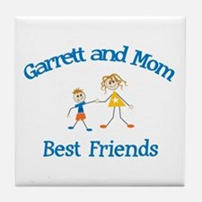 Garrett& Mom - Best Friends  Tile Coaster