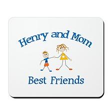 Henry & Mom - Best Friends  Mousepad