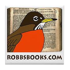 RobbsBooks.com Tile Coaster