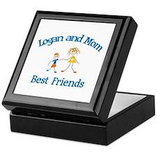 Logan & Mom - Best Friends  Keepsake Box