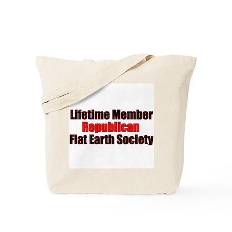 Lifetime Member: Republican F Tote Bag