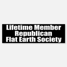 Lifetime Member: Republican F Bumper Bumper Bumper Sticker
