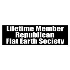 Lifetime Member: Republican F Bumper Bumper Sticker