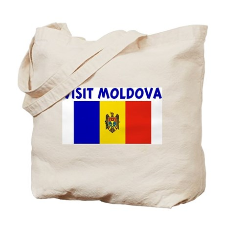 VISIT MOLDOVA Tote Bag