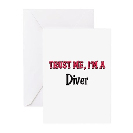 Trust Me I'm a Diver Greeting Cards (Pk of 10)