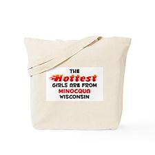 Hot Girls: Minocqua, WI Tote Bag