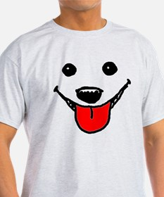 Happy Dog Face T-Shirt