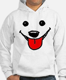 Happy Dog Face Hoodie