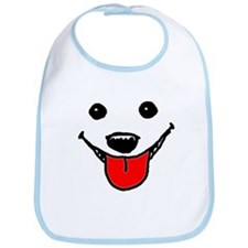 Happy Dog Face Bib