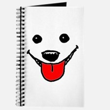 Happy Dog Face Journal