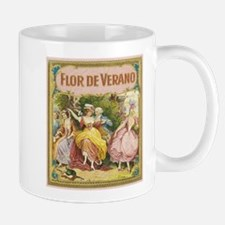 Flor De Verano Cigar Label Mug