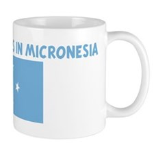 HALF MY HEART IS IN MICRONESI Mug
