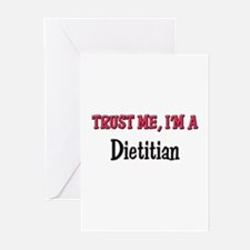 Trust Me I'm a Dietitian Greeting Cards (Pk of 10)