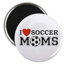 I Heart Soccer Moms Magnet