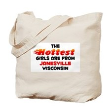 Hot Girls: Janesville, WI Tote Bag