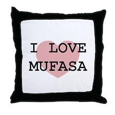 Cute Kevin jonas alliance mufasa Throw Pillow