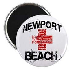 Newport Beach Lifeguard ~ Magnet