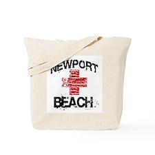 Newport Beach Lifeguard ~  Tote Bag