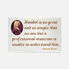 Handel's Simplicity Rectangle Magnet