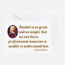 Handel's Simplicity Greeting Card