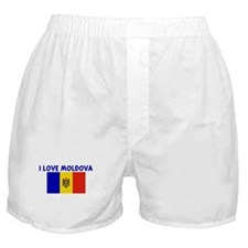 I LOVE MOLDOVA Boxer Shorts