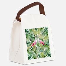 Cute Tropical Canvas Lunch Bag