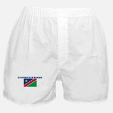 ID RATHER BE IN NAMIBIA Boxer Shorts