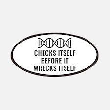 DNA Checks Itself Patches