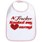 Trucker Hauled My Heart Away Bib