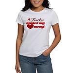 Trucker Hauled My Heart Away Women's T-Shirt