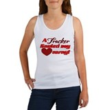 Semi truck Women's Tank Tops