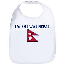 I WISH I WAS NEPALI Bib