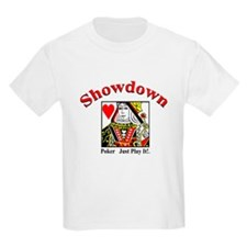 Showdown Poker Kids T-Shirt