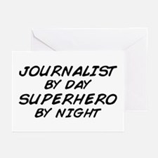 Journalist Superhero Greeting Cards (Pk of 10)