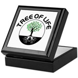 Tree of life Square Keepsake Boxes