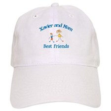 Xavier & Mom - Best Friends Baseball Cap