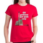 Old gardeners spade away Women's Dark T-Shirt