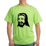 Laughing Jesus Green T-Shirt