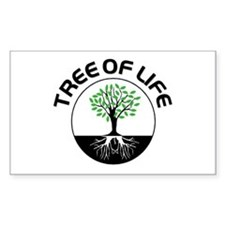 Tree Of Life Rectangle Decal