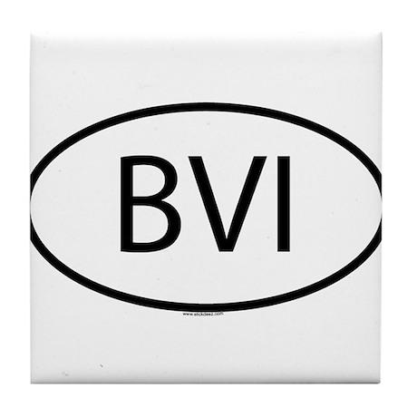 BVI Tile Coaster
