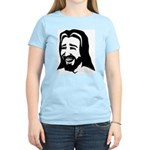 Laughing Jesus Women's Pink T-Shirt