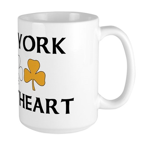New York Irish Sweetheart Large Mug
