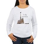 I dig gardens Women's Long Sleeve T-Shirt