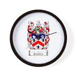 Saunders Coat of Arms Wall Clock