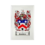 Saunders Coat of Arms Rectangle Magnet (10 pack)