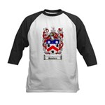 Saunders Coat of Arms Kids Baseball Jersey
