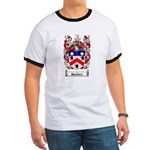 Saunders Coat of Arms Ringer T