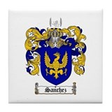 Sanchez coat of arms Drink Coasters