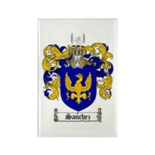 Sanchez Coat of Arms Rectangle Magnet (10 pack)
